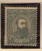 Congo Belge (1887-94) -  50 C. ..  Leopold II  -    Neufs* - MH - 1894-1923 Mols: Ungebraucht