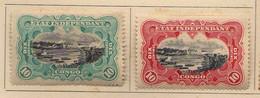 Congo Belge (1894-1900) -  10  C. .  Paysages-    Neufs* - MH - 1894-1923 Mols: Ungebraucht