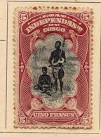 Congo Belge (1894-1900) -   5 F..    Chef Bangala -   Neufs* - MH - 1894-1923 Mols: Ungebraucht