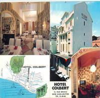 """CPSM LIVRET FRANCE 06 """"Juan Les Pins, Hôtel Colbert"""" - Juan-les-Pins"""