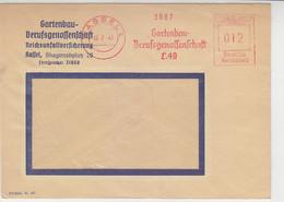 Freistempel Der Gartenbau-Berufsgenossenschaft .. Aus KASSEL 16.7.41 - Covers & Documents
