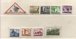 Ungarn 1952 Siehe Bild/Beschreibung 9 Marken Gestempelt  Hungary Used - Gebraucht