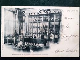 91 , Igny ,   établissement Saint Nicolas, Le Cabinet De Physique En 1904 - Igny