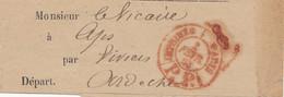 Frankreich: 1883: Streifband  - Unclassified