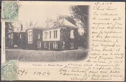 02 VAUXROT Maison Bleue  CPA Pour 80 VAUCHELLES LES QUESNOY écrite Le 17 1 1903  Avec Cachet OR Origine Rurale - Other Municipalities