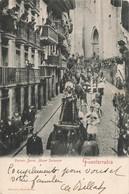 Espagne Fuenterrabia Procession Viernes Santo Mater Dolorosa + Timbre Cachet 1904 - Guipúzcoa (San Sebastián)