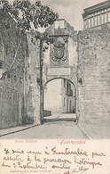 Espagne Fuenterrabia Puerta Principal + Timbre Cachet 1904 , Porte Principale De La Ville - Guipúzcoa (San Sebastián)
