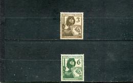 Allemagne 1936 Yt 591-592 * - Nuovi