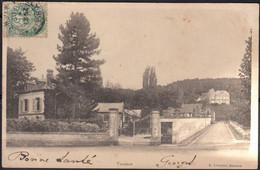 02 VAUXROT Une Vue  CPA Pour 80 VAUCHELLES LES QUESNOY écrite Le 8 12 1902  Avec Cachet OR Origine Rurale - Other Municipalities