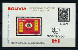 BOLIVIEN 1975 Bl.48 Postfrisch (112581) - Andere