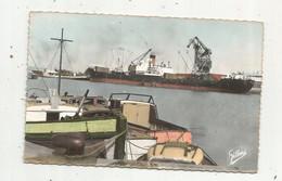 Cp, Bateaux ,17 , ROCHEFORT SUR MER ,  Sur Le Port , Voyagée 1960 - Altri