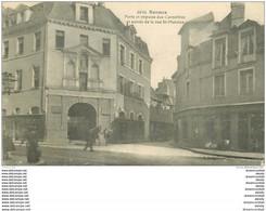 35 RENNES. Porte Et Impasse Des Carmélites. Cheval à L'Entrée De La Rue Saint-Melaine. Tampon Militaire 1917 - Rennes