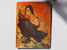 3d 3 D Lenticular Stereo Postcard Madonna And Child 2004  A 212 - Cartoline Stereoscopiche