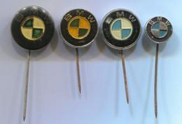BMW - Car, Auto, Automotive, Vintage Pin, Badge, Abzeichen, 4 Pcs - BMW