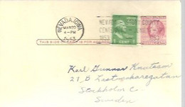 STATIONERY 1953  NEVADA - 1941-60