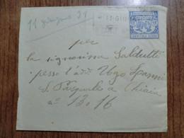 Lettera  Del 1931 - Storia Postale