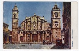 HAVANA - The Cathedral - Tuck Oilette 2476 - Publicity Estey Piano Co. New York - Cuba