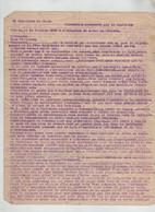 Allocution Capitaine Perrin 14 Juillet 1940  10è Bataillon De Chars Chasseur Alboud à Identifier - 1939-45