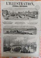 L' ILLUSTRATION 1087 - 26 DECEMBRE1863. SAINT NAZAIRE. PORTO PORTUGAL. PIREE GRECE. NAPOLI. SCHLESWIG HOLSTEIN - 1850 - 1899