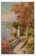 ITALIAN LAKES - A Villa, Lake Maggiore - Tuck Oilfacsim 2386 - Unclassified