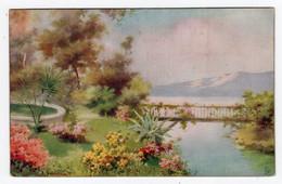 ITALIAN LAKES - Lago Di Como - Tuck Oilette Connoiseur 2386 - Artist A. Prosdocimi - Check Back - Unclassified