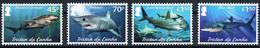 Serie Set Requins Sharks  Neuf MNH **  Tristan Da Cunha 2020 - Tristan Da Cunha