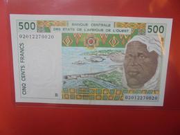 BENIN 500 FRANCS 1991-2002 Circuler BONNE QUALITE (B.23) - Benin
