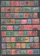USA , Lot Mit Alten Gebrauchten Briefmarken - Unclassified