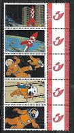 Tintin Kuifje Tim Hergé Strip BD Comic Cartoon MNH !!! - Timbres Personnalisés