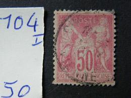 Sage  No 104 - 1876-1878 Sage (Type I)