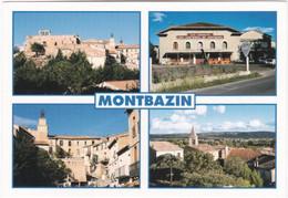 34. Gf. MONTBAZIN. 4 Vues. 5024 - Other Municipalities