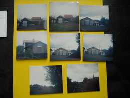 Photo ,TRAMWAY Et Gares De L'ALLIER , Collection Bourneuf ,lire Descriptif ,Cusset ,Mayet , Laprugne - Trains