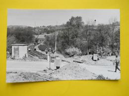 Photo ,TRAMWAY Et Gares De L'ALLIER , Collection Bourneuf ,lire Descriptif ,Cusset ,Carriere Des Malavaux ,photo Geiger - Treinen