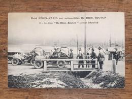 Raid PARIS-PEKIN Sur Automobile De DION-BOUTON . Les 2 DE DION BOUTON Quittent IRKOUTSK - Other