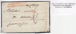 """1 Précurseur Du ?? """"Bureau De Poste Près Le Corps Législatif"""". Regardez Les Scans Tout Est Indiqué. - 1701-1800: Precursors XVIII"""