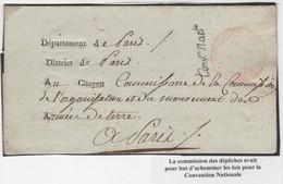 1 Précurseur De La Commission Des Dépêches. Regardez Les Scans Tout Est Indiqué. - 1701-1800: Precursors XVIII