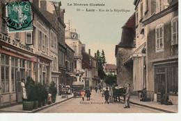 CPA 58 Luzy Rue De La République Circulée Bon état(Pli Au Dos ) - Other Municipalities