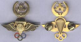Insigne Du Brevet De Parachutiste - 3 étoiles - Arabie Saoudite - Other