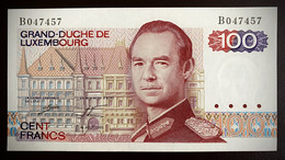 Luxembourg 100 Francs 1980 P-57a(1)  UNC - Luxemburgo