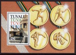 Tuvalu 1992 A Mini Sheet Celebrating Olympic Games Barcelona In Unmounted Mint. - Tuvalu