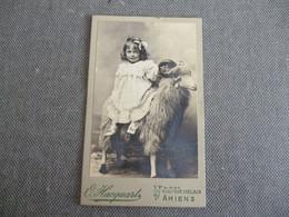 Amiens Photo Hacquart   Enfant Sur Un Belier - Amiens