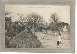 CPA - DAKAR - SENEGAL - Aspect D'une Rue Du Village En 1900 - Senegal