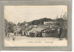 CPA - DAKAR - SENEGAL - Aspect D'une Rue De Dakar En 1900 - Senegal