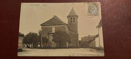 Ancienne Carte Postale - Chaintré - Eglise - Other Municipalities