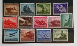 Deutsches Reich 1944 Giornata Degli Eroi 13 Valori Completa ** - Unused Stamps