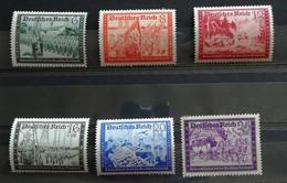 Deutsches Reich 1941 Pro Portalettere 6 Valori Completa ** - Unused Stamps