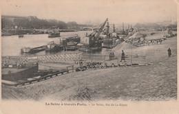 1031 - PARIS . LA SEINE VUE DE LA RAPEE. SCAN RECTO VERSO - Die Seine Und Ihre Ufer