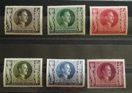 Deutsches Reich 1943 S.763-68 6 Valori Completi ** - Unused Stamps