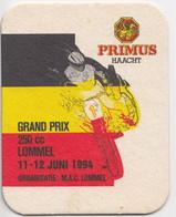 Grand Prix Moto Cross Lommel 94 Bière Primus  Ancien Sous-bock Coaster - Beer Mats