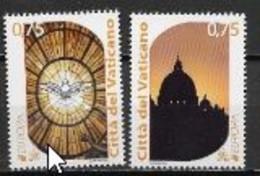 Vatican 2012 N° 1594/1595 Neuf Europa Tourisme - 2012